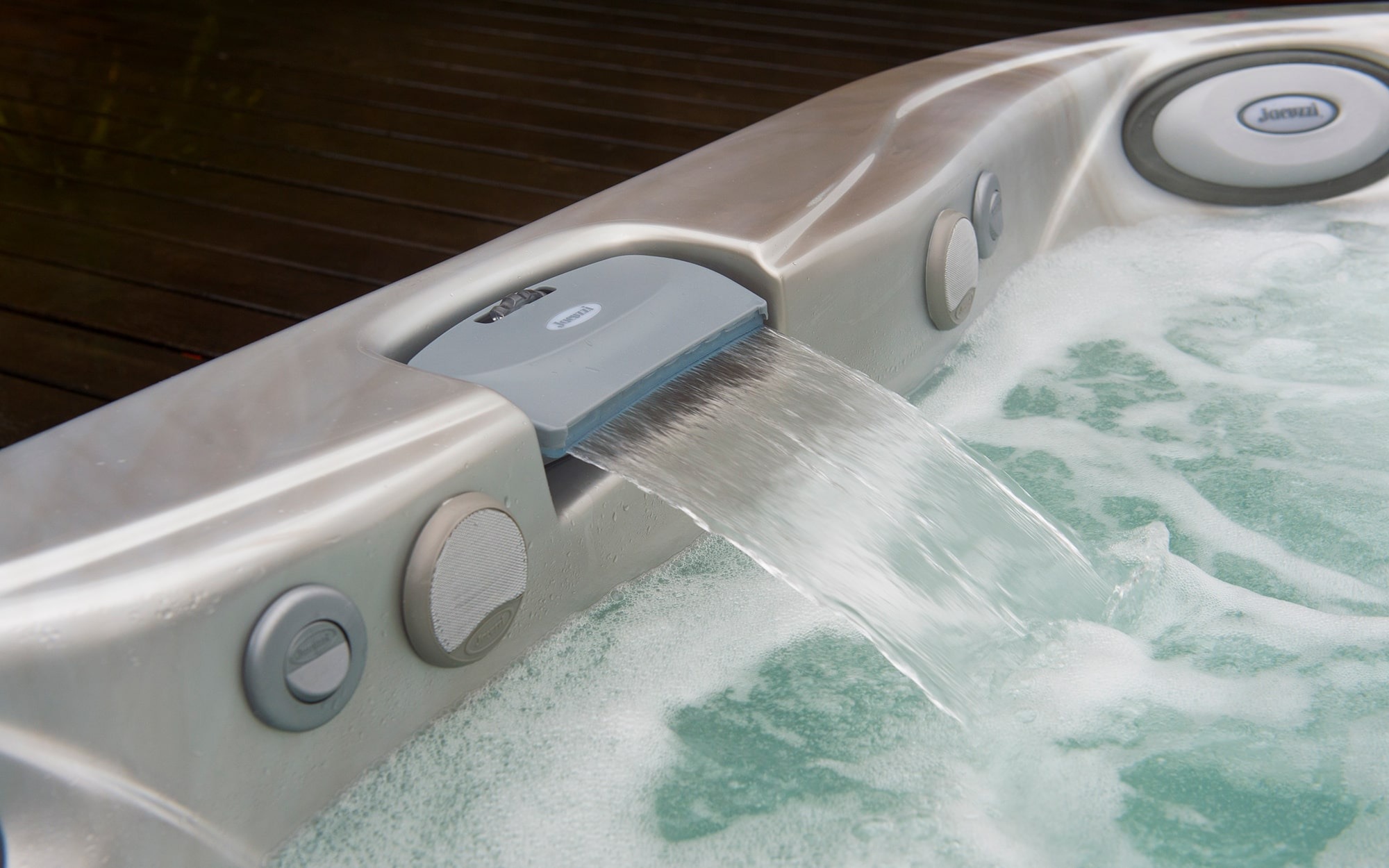 Jacuzzi Hot Tubs Waterfall Feature in Los Angeles, California