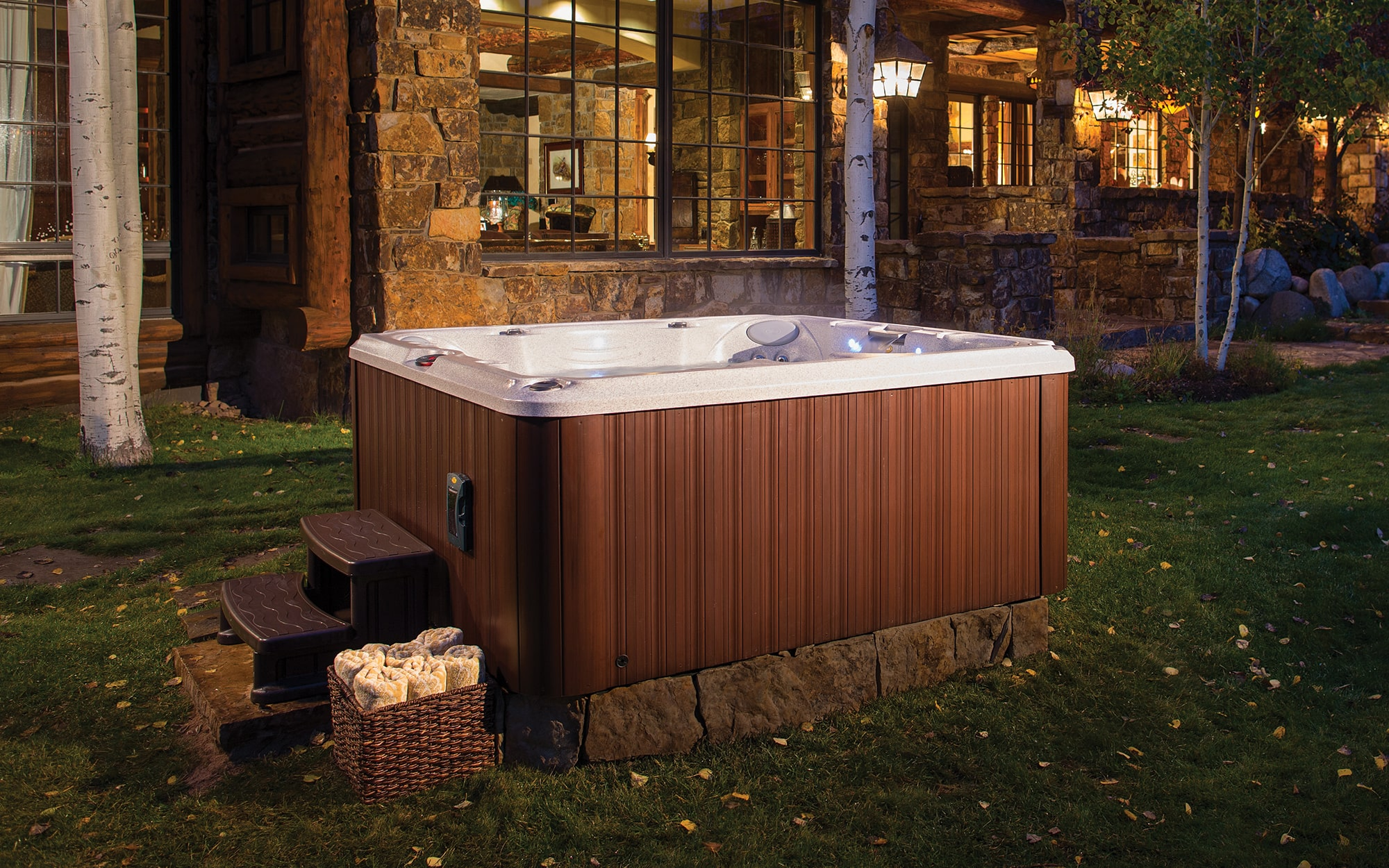 Jacuzzi Hot Tubs J-245 Installation in Los Angeles, California