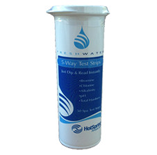 FreshWater 5-Way Test Strips