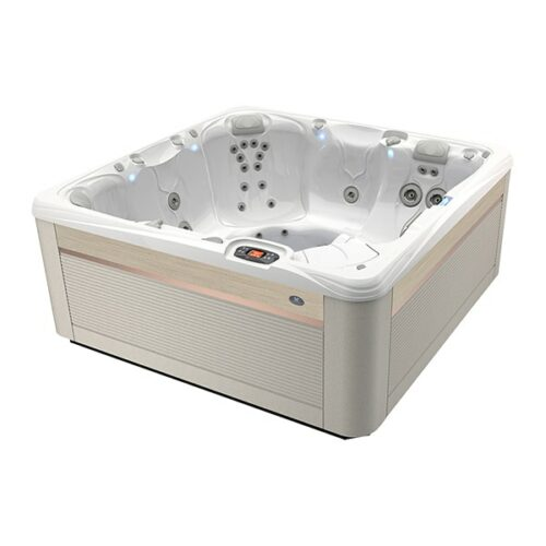 Caldera Spas Seychelles Hot Tub at Lifestyle Outdoor in Los Angeles, California