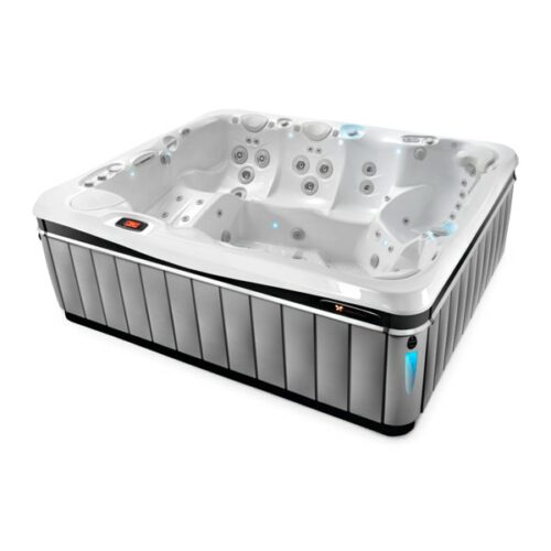 Caldera Spas Cantabria Hot Tub at Lifestyle Outdoor in Los Angeles, California