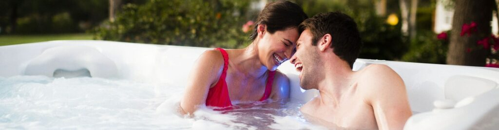 Caldera Spas Florence Hot Tub at Lifestyle Outdoor in Los Angeles, California