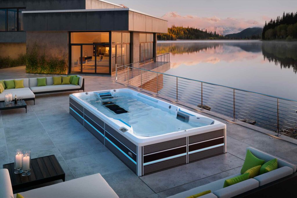 E700 Fitness System endless pools swim spa in Los Angeles