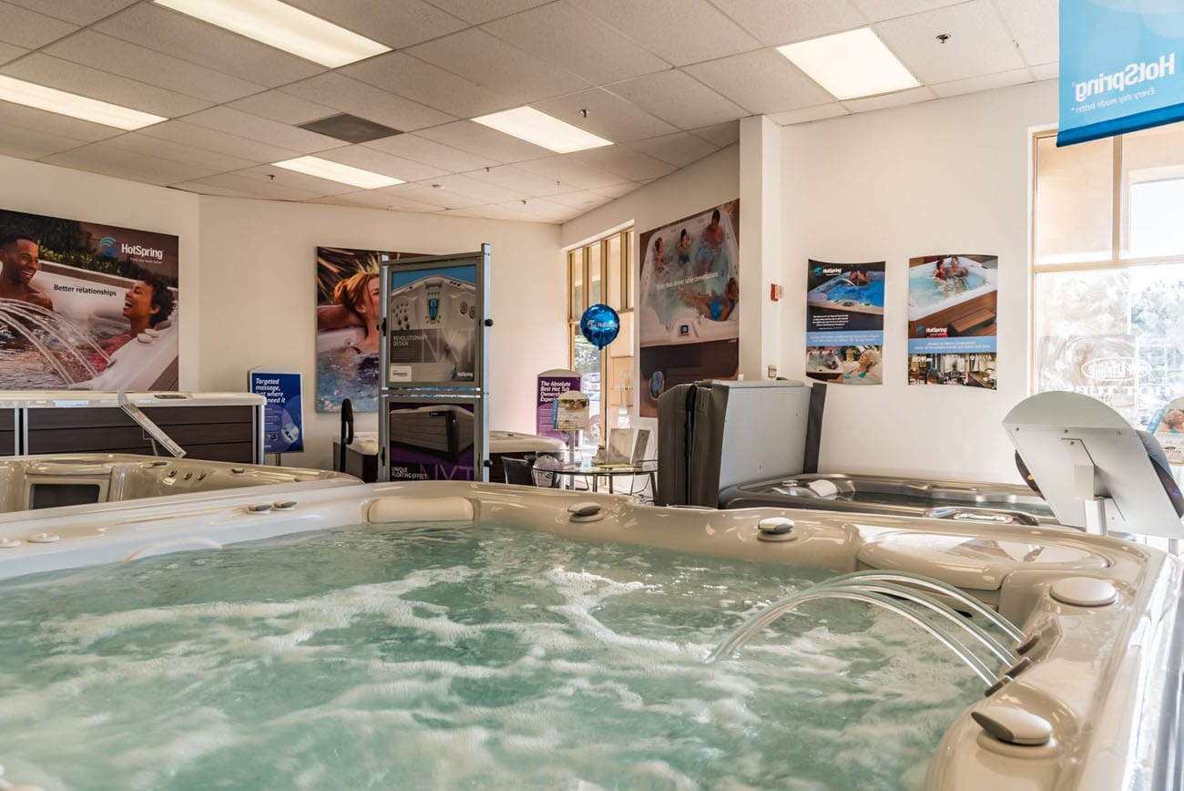 Lifestyle Outdoor Stevenson Ranch hot tub showroom in Los Angeles