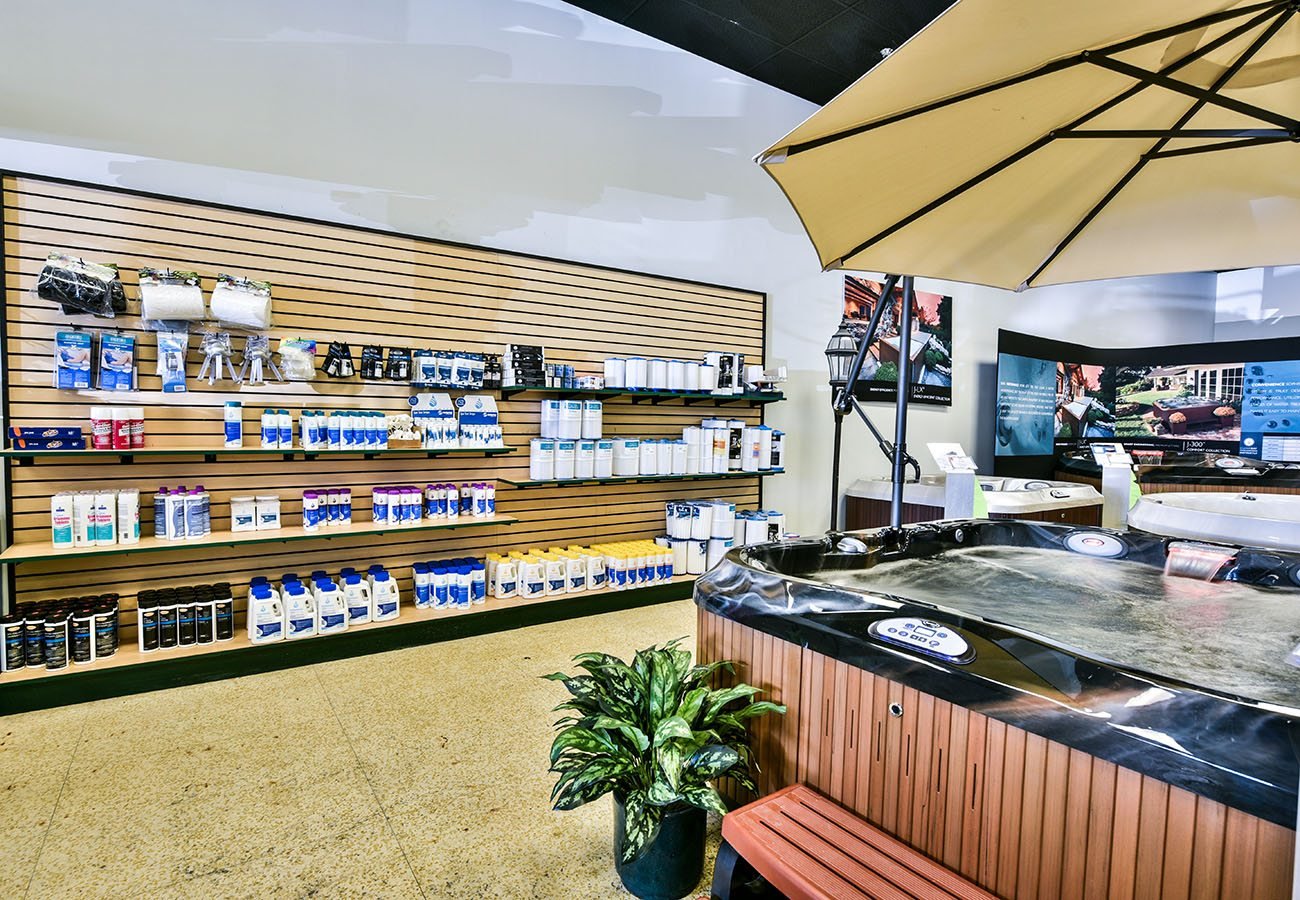 Lifestyle Outdoor Sherman Oaks spa showroom water treatment products in Los Angeles