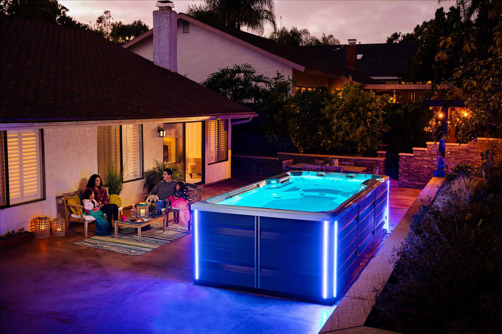 Endless Pools SwimCross X500 Exercise System Swim Spa in Los Angeles