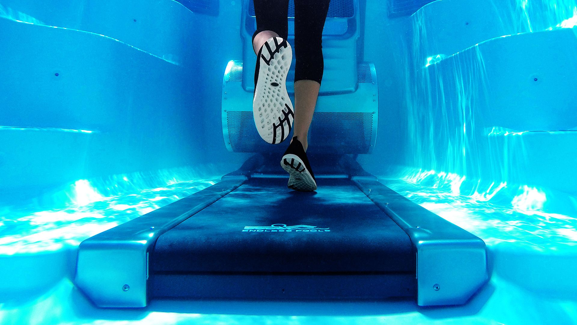 endless pools underwater treadmill at Lifestyle Outdoor in Los Angeles